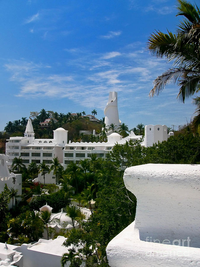 Villas On A Hillside In Manzanillo Mexico Photograph