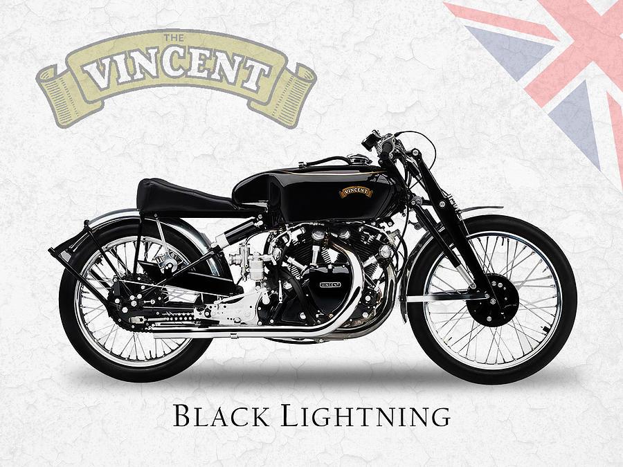 Vincent Black Lightning Photograph