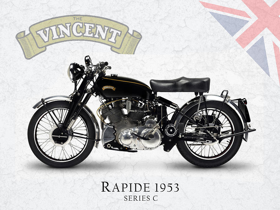 Vincent Rapide 1953 Photograph