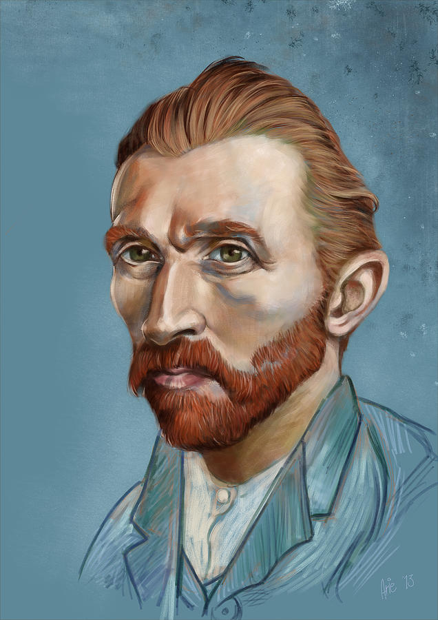 Vincent Revisited Digital Art