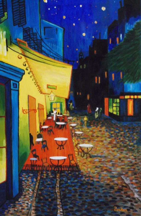 Vincent Van Gogh Cafe Terrace at Night Van Gogh Cafe Terrace at Night