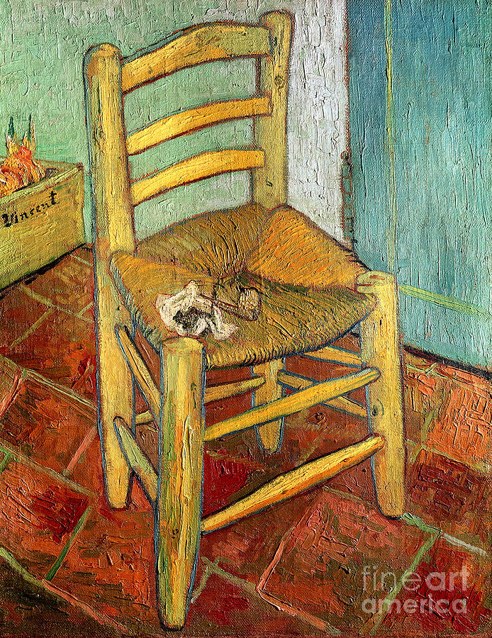 vincent s chair 1888 painting by vincent gogh
