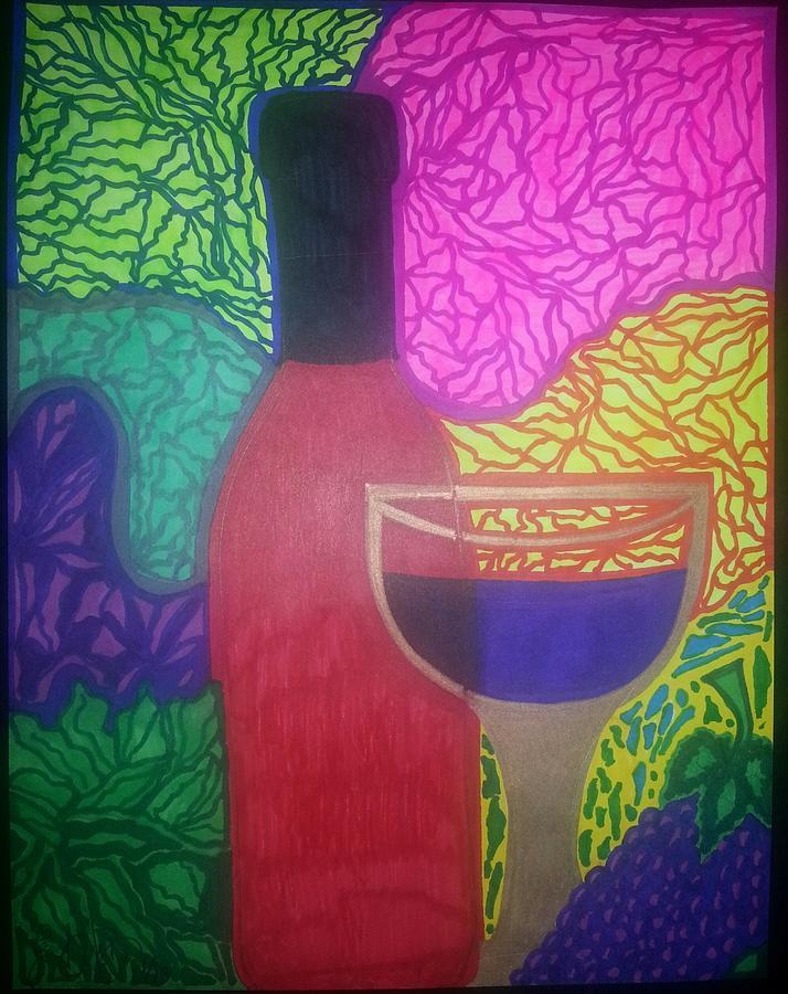 Vino Drawing