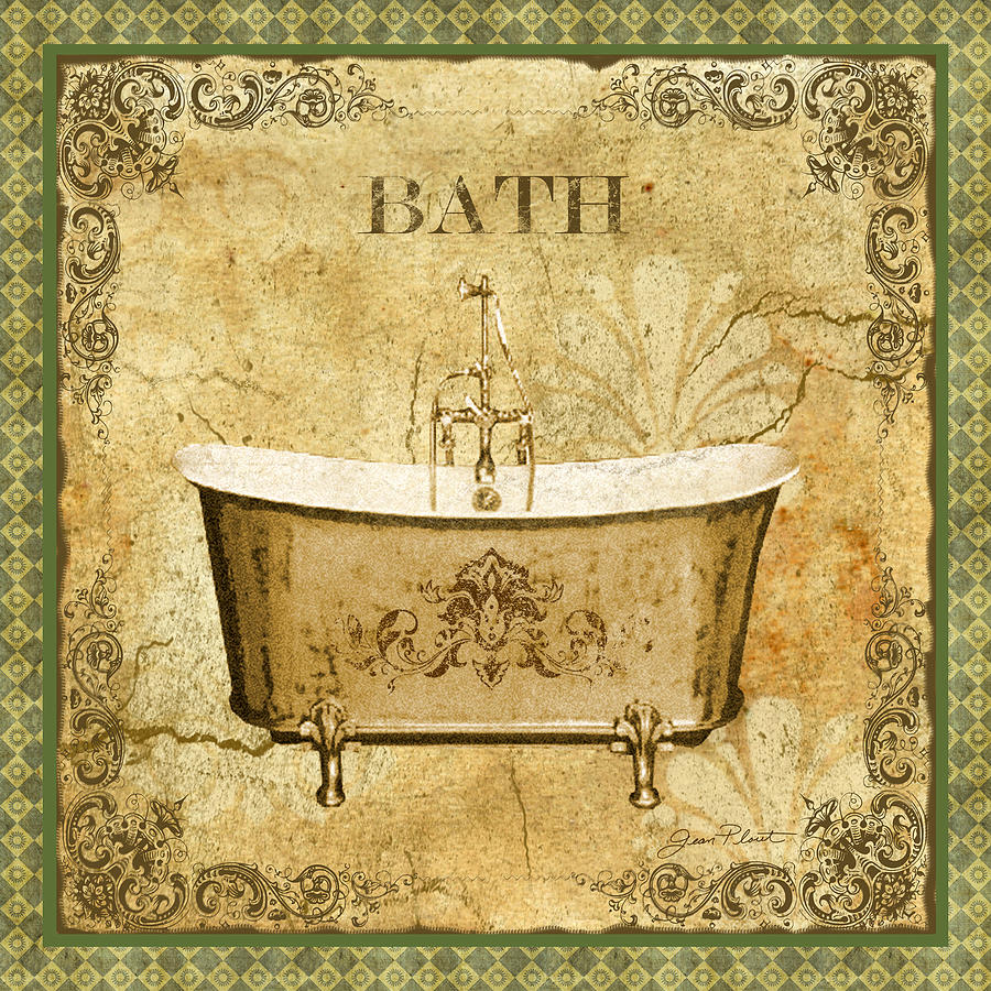Vintage Bathroom Prints 12