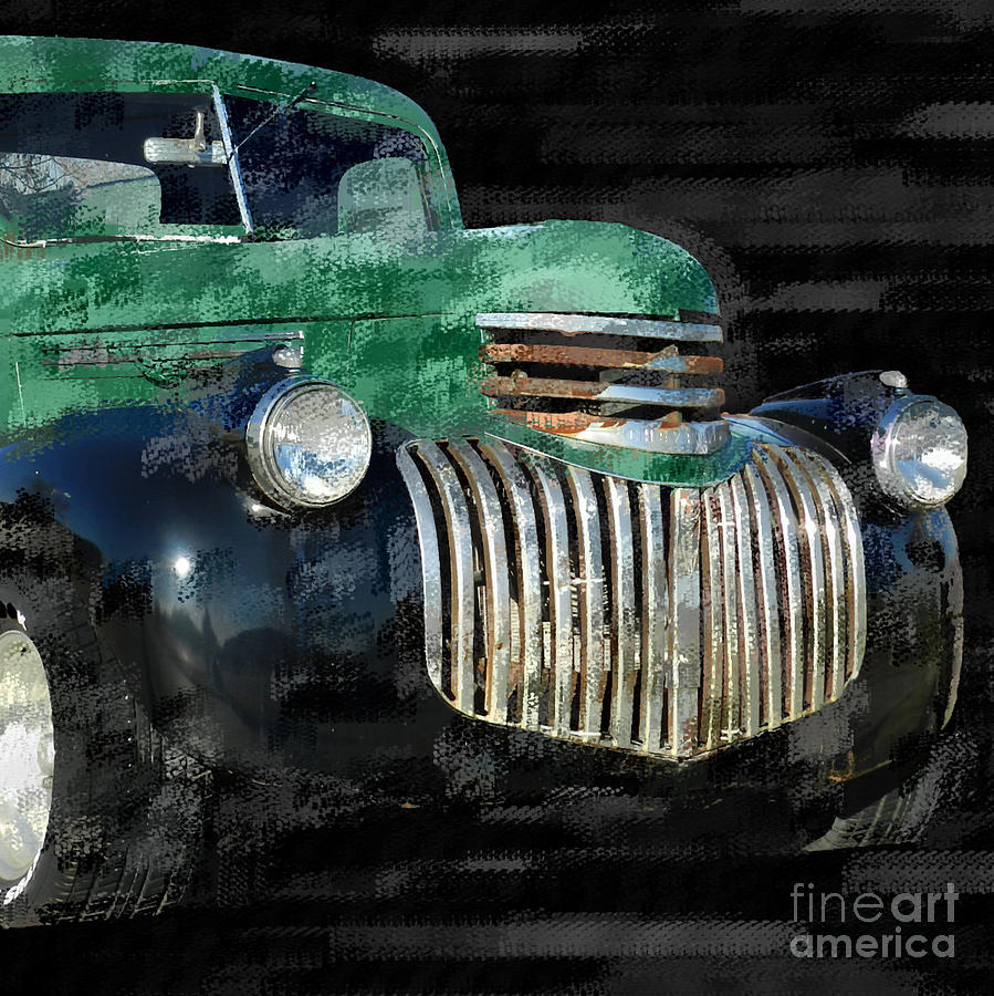 Vintage Chevrolet Pickup 1 Photograph