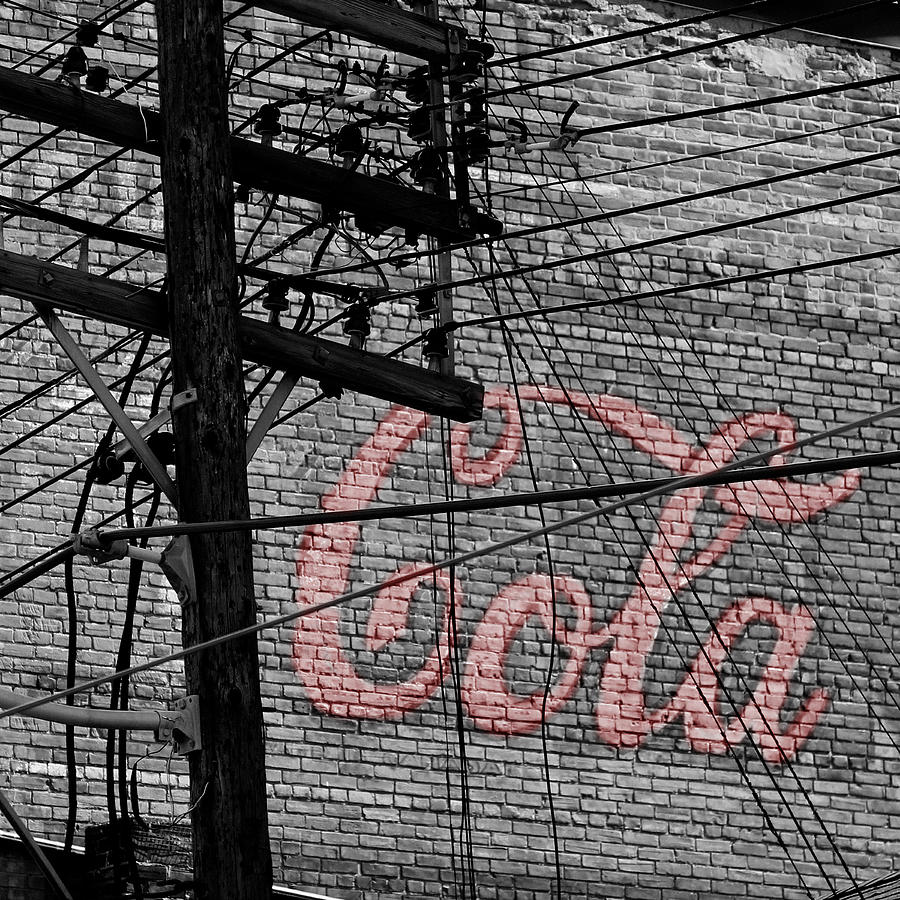 Vintage Coca Cola Sign 4b Photograph  - Vintage Coca Cola Sign 4b Fine Art Print