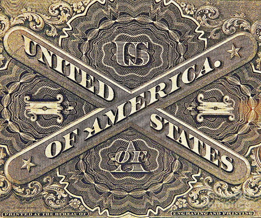 Vintage Currency Photograph