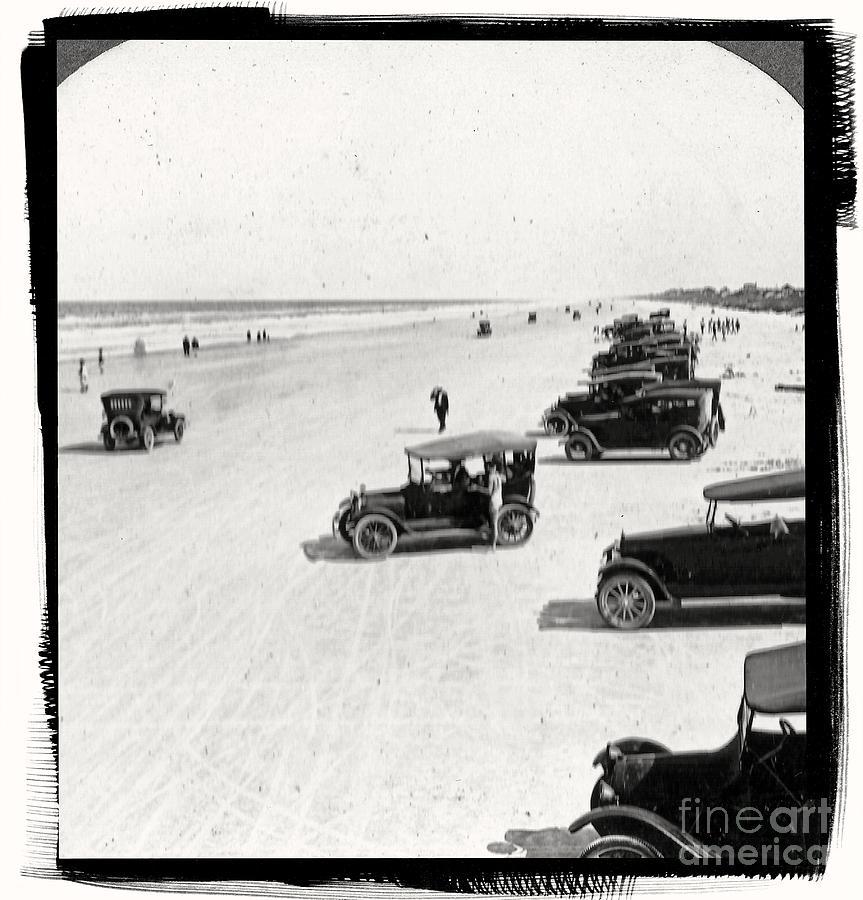 Vintage Daytona Beach Florida Photograph