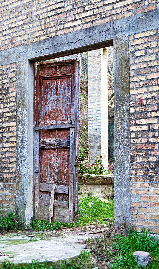 Vintage Doorway Photograph  - Vintage Doorway Fine Art Print