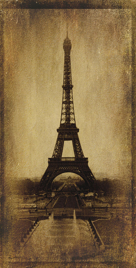 Antique Eiffel Tower Photograph By Gary Cain