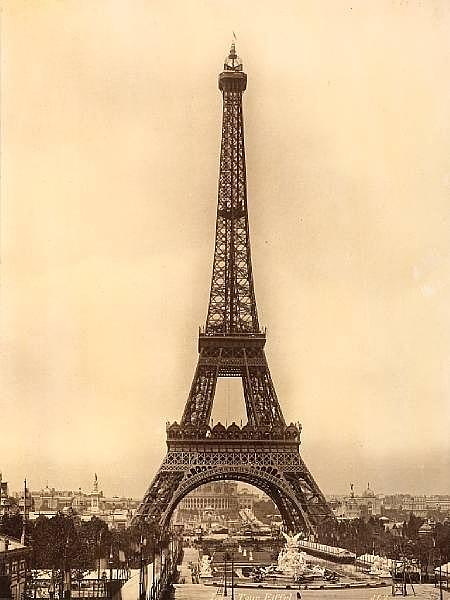 Vintage Eiffel Tower Photograph By Julie Butterworth