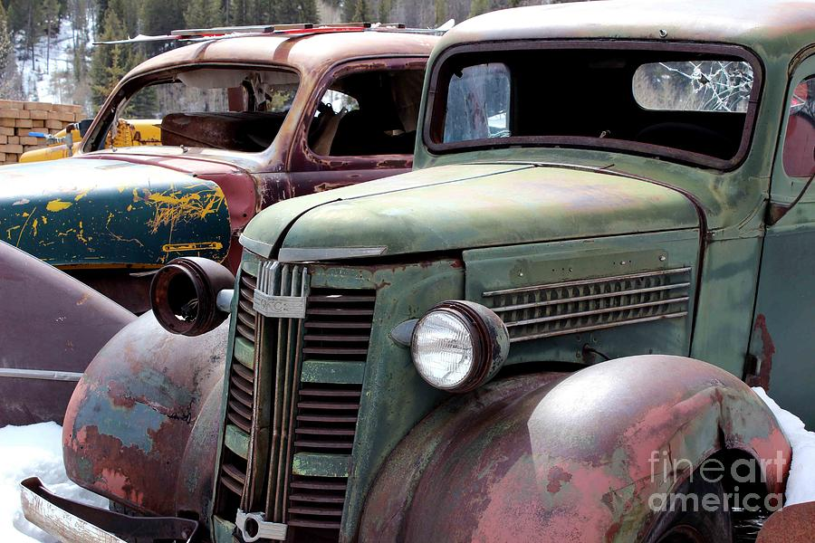 Vintage Trucks Photograph - Vintage by Fiona Kennard