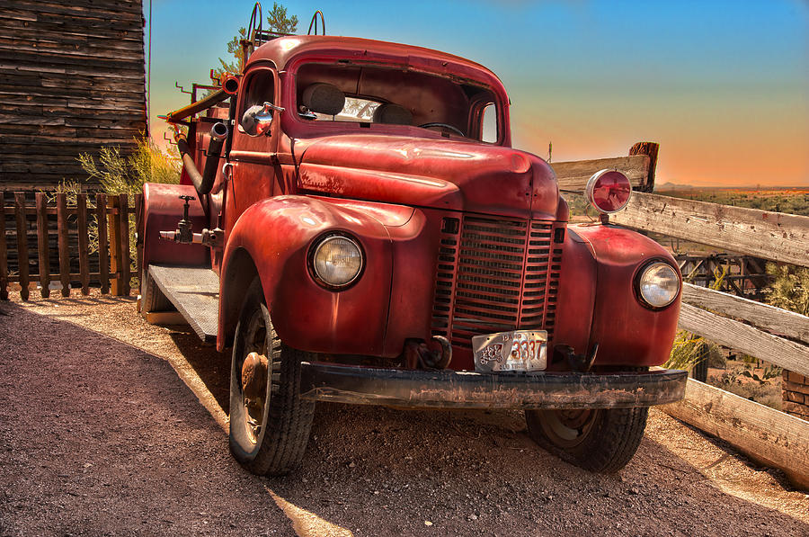 Vintage Truck Art 115