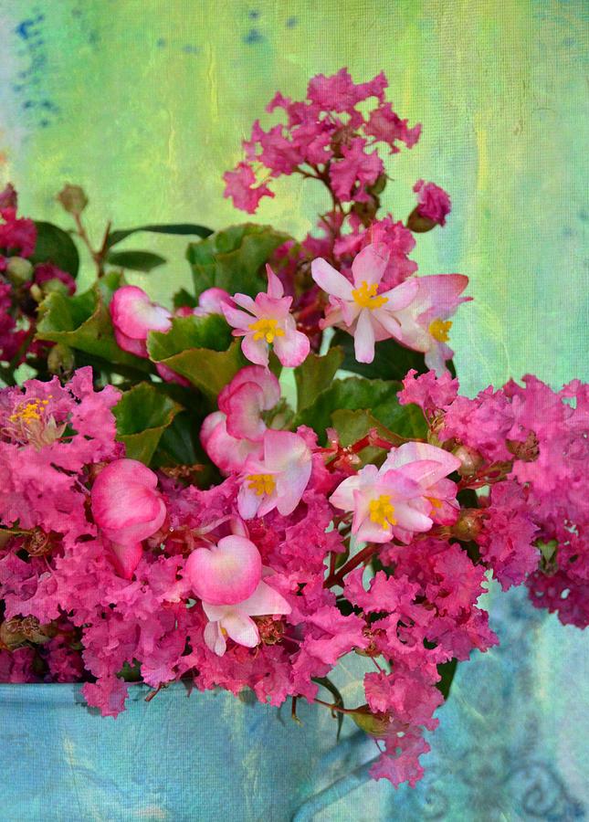 Vintage Floral Photograph