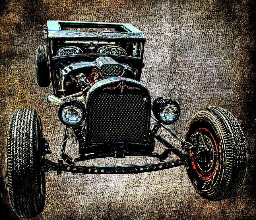 Vintage Hot Rod Art 96