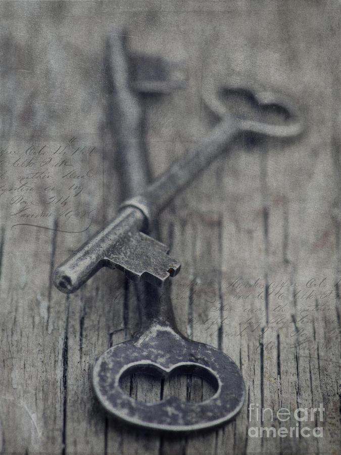Vintage Keys Photograph