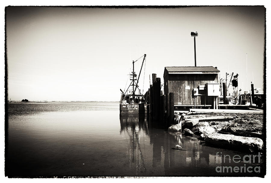 Vintage Lbi Bay Photograph