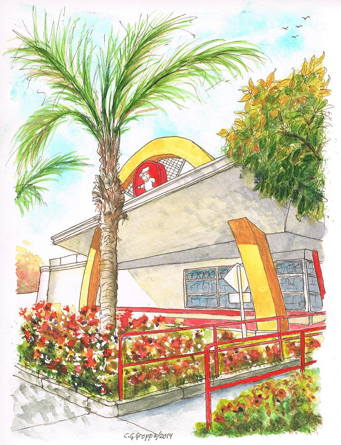 Vintage Mcdonalds In Whittier - California Painting