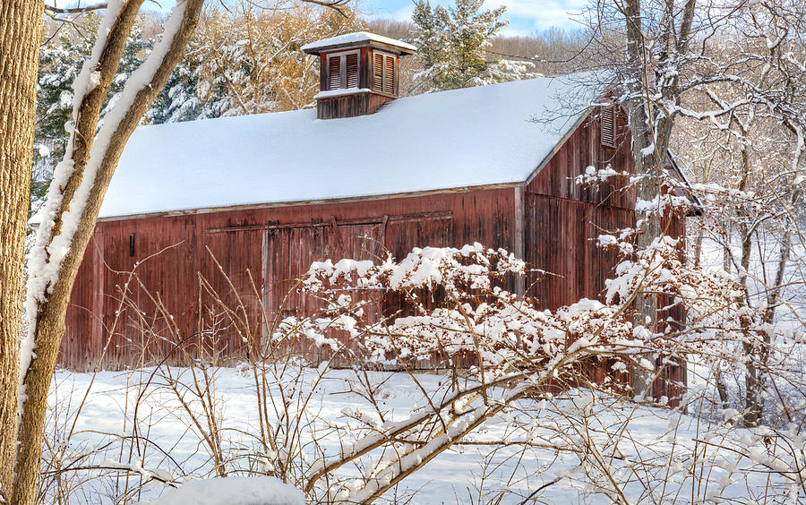 Vintage new england barn photograph by bill wakeley for New england barns for sale