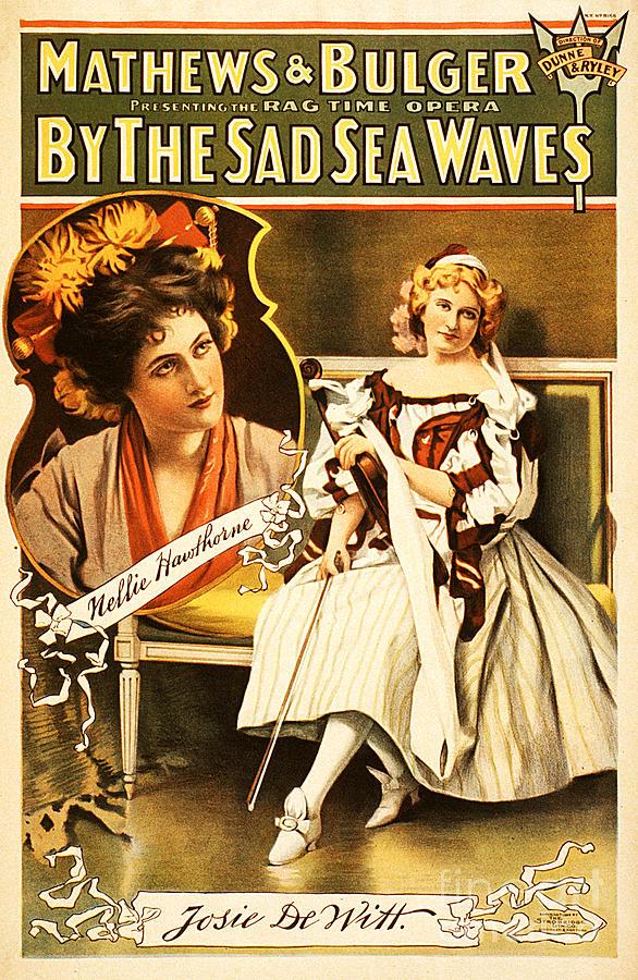 Vintage Nostalgic Poster - 8035 Photograph