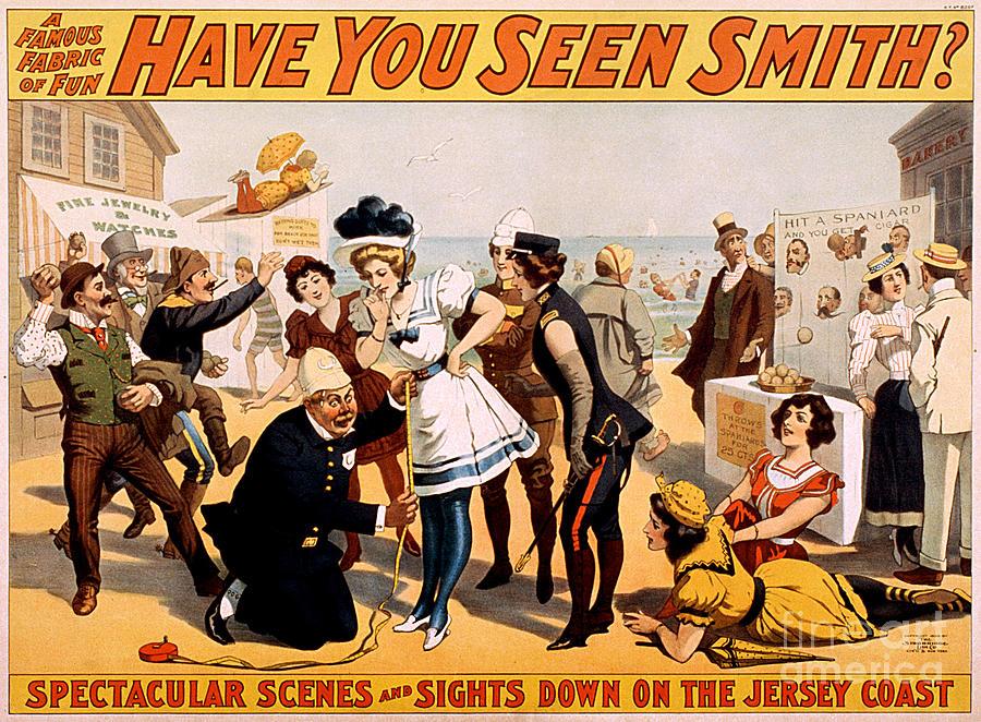 Vintage Nostalgic Poster - 8046 Photograph