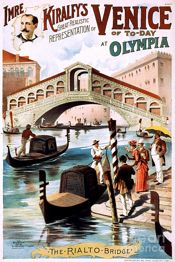 Vintage Nostalgic Poster - 8052 Photograph