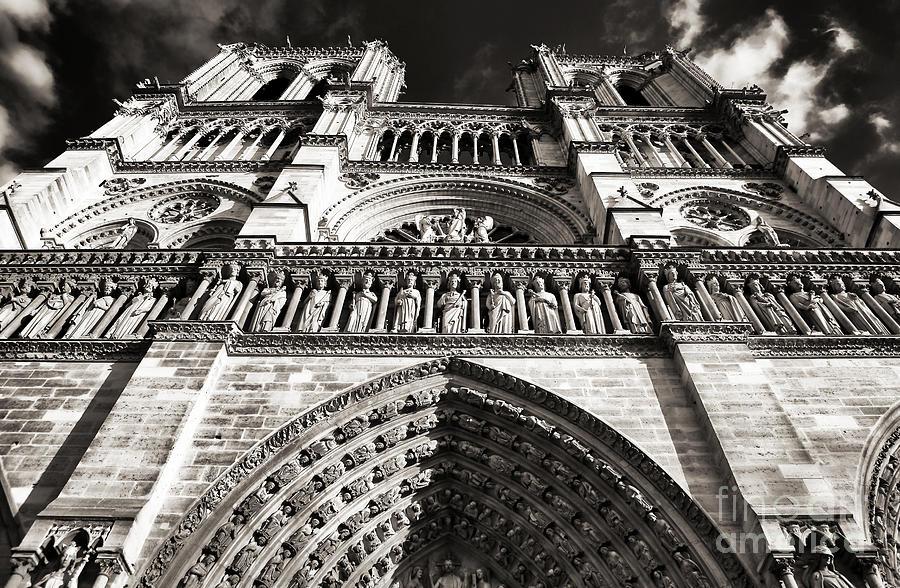 Vintage Notre Dame Photograph