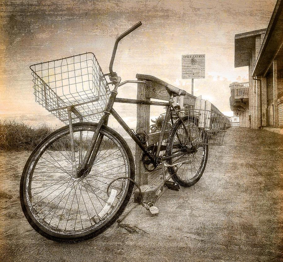 Vintage Ol Bike Photograph