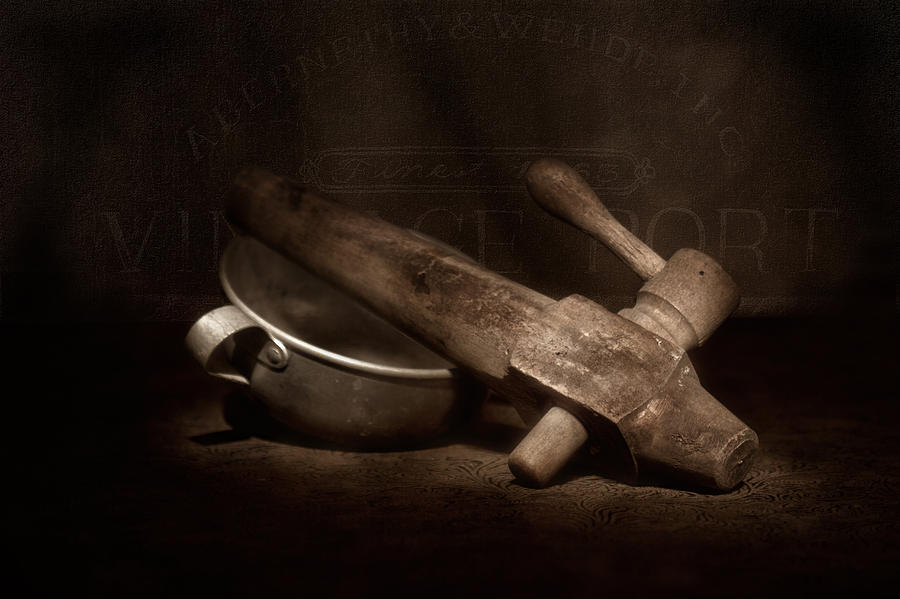 Vintage Port Still Life Photograph