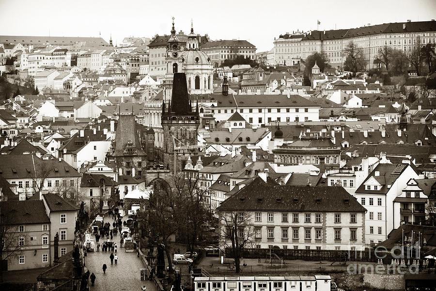 Vintage Prague Photograph