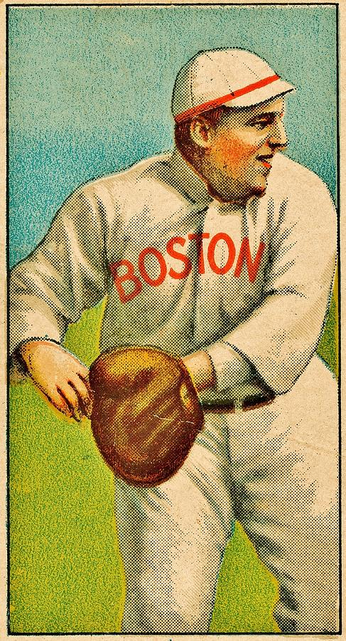 Vintage Red Sox Photograph  - Vintage Red Sox Fine Art Print