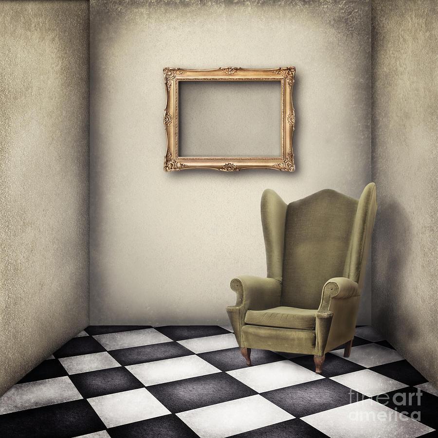 Vintage Digital Art - Vintage Room by Jelena Jovanovic
