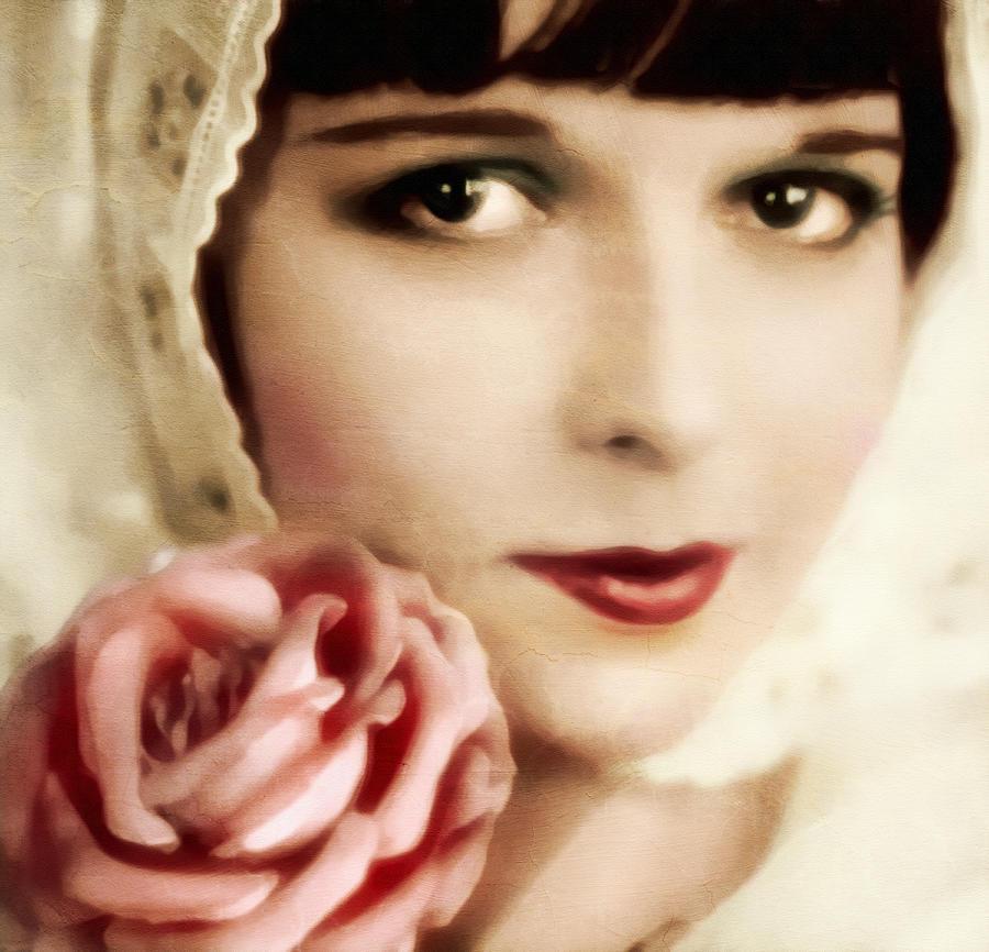Vintage Rose Digital Art