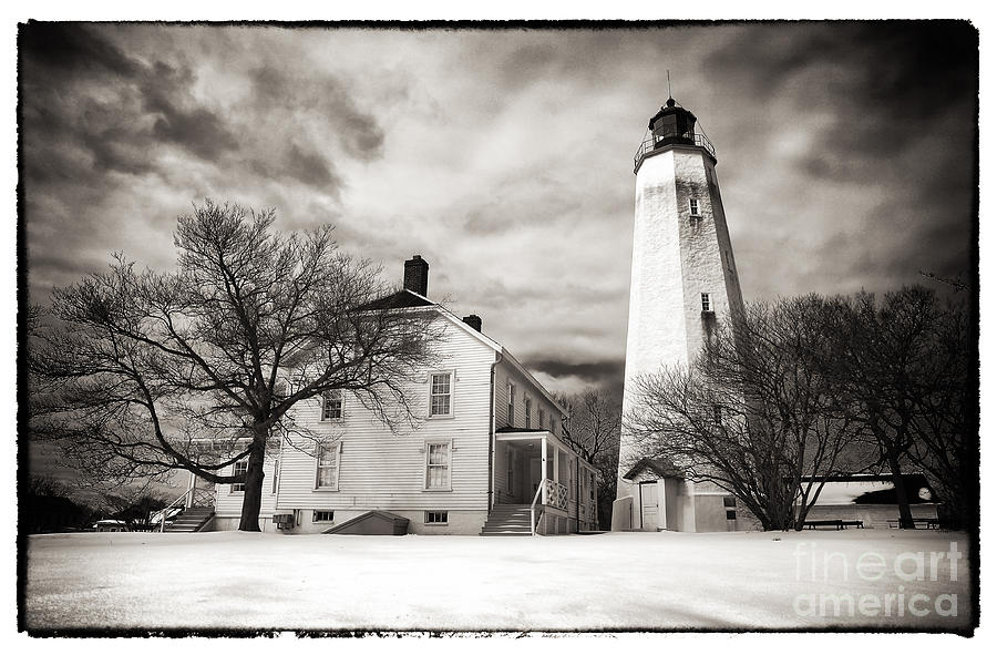 Vintage Sandy Hook Photograph  - Vintage Sandy Hook Fine Art Print