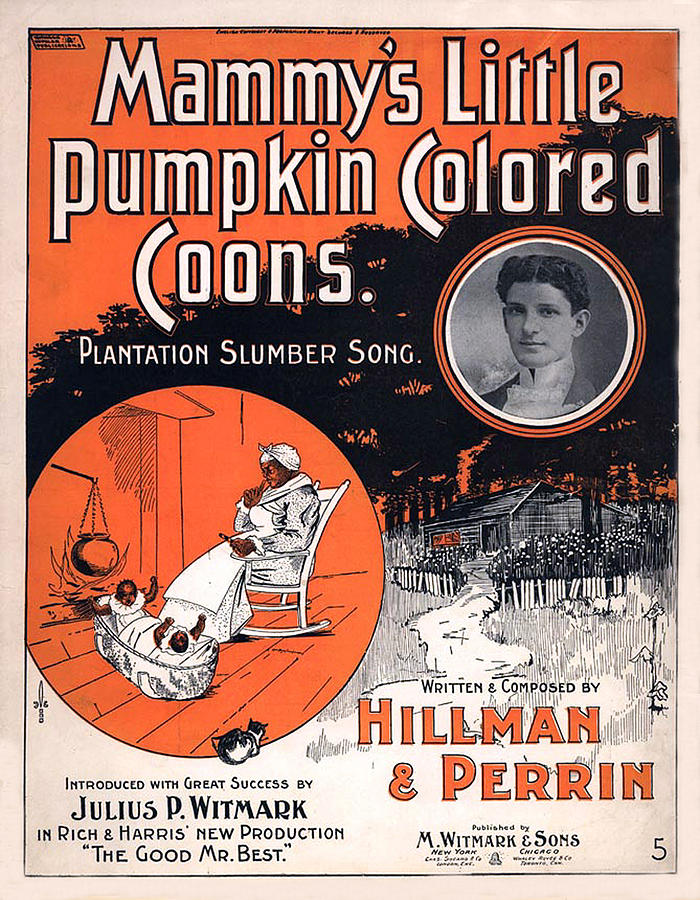 Vintage Sheet Music Cover Circa 1896 Digital Art
