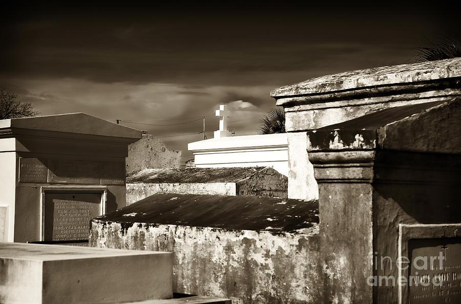 Vintage St. Louis Cemetery Photograph