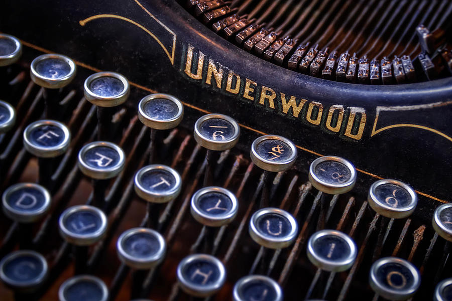 Vintage Typewriter 2 Photograph