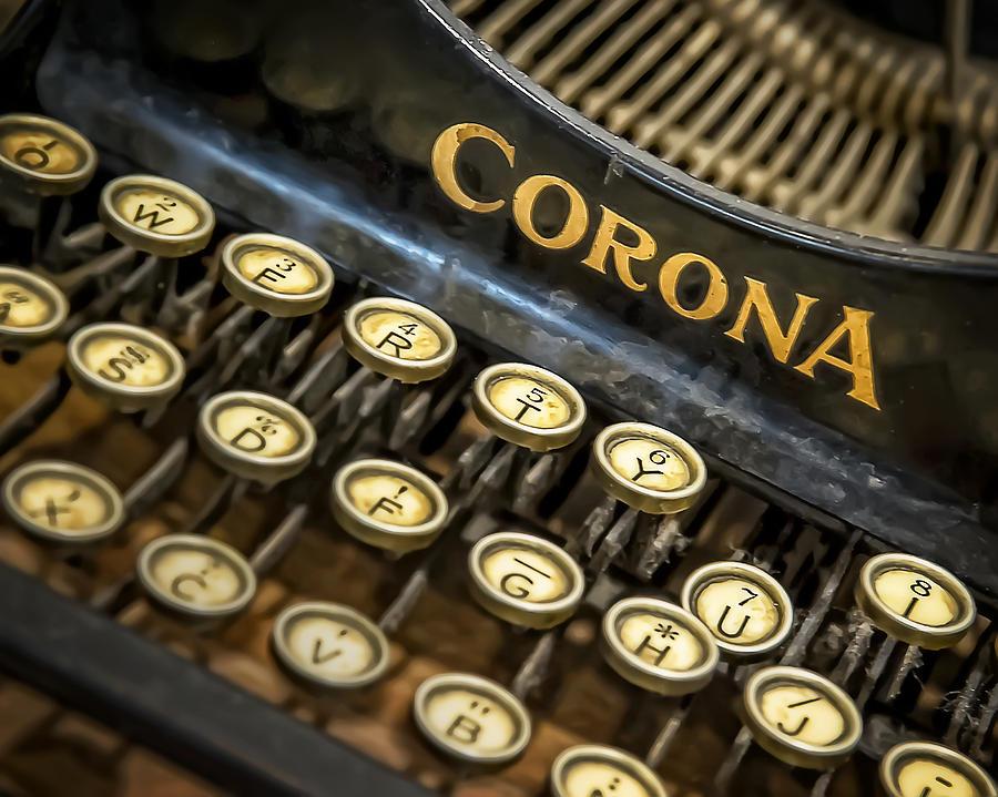 Vintage Typewriter Photograph