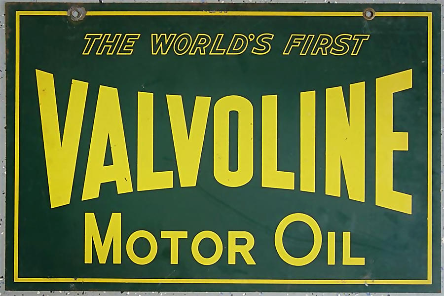 vintage oil signs pictures to pin on pinterest