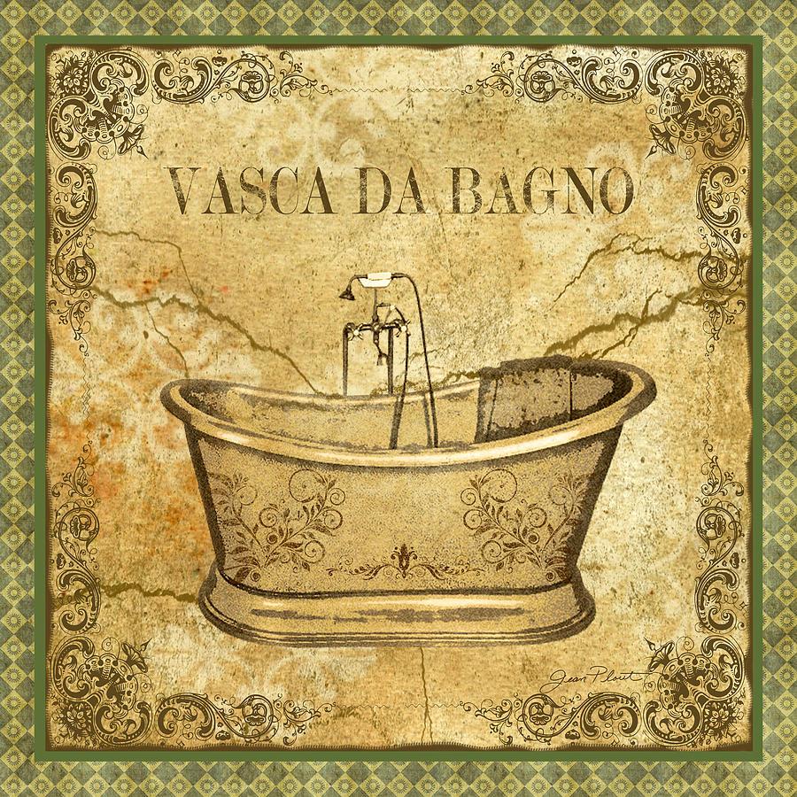 Vintage vasca da bagno by jean plout - Vasca da bagno retro ...