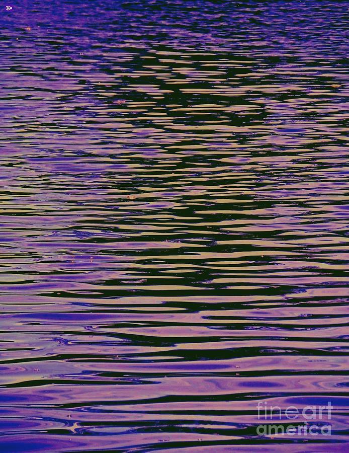 Violet Ripples Photograph