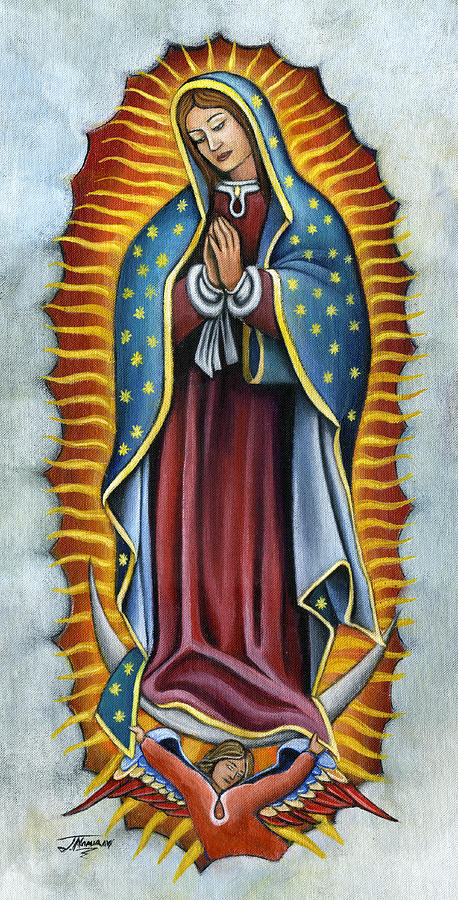Guadalupe Drawing Related Keywords & Suggestions - Guadalupe Drawing ...
