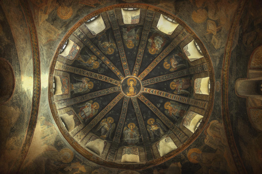 Virgin Mary Cupola Photograph