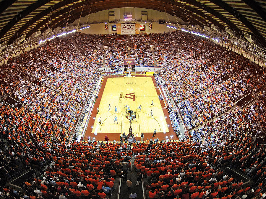 Virginia Tech Hokies Cassell Coliseum Photograph