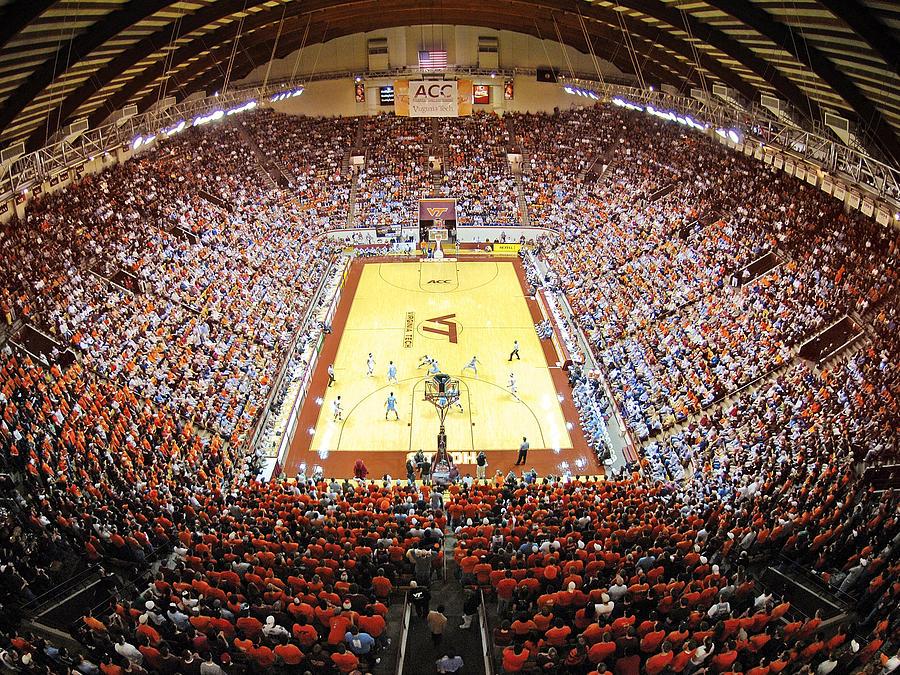 Virginia Tech Hokies Cassell Coliseum by Replay Photos