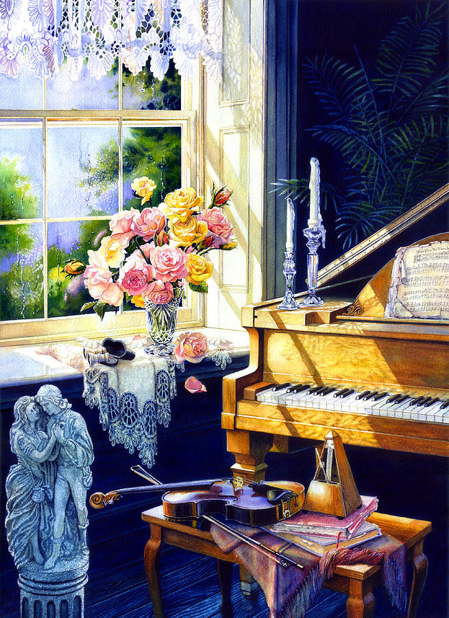 Virginia Waltz Painting  - Virginia Waltz Fine Art Print