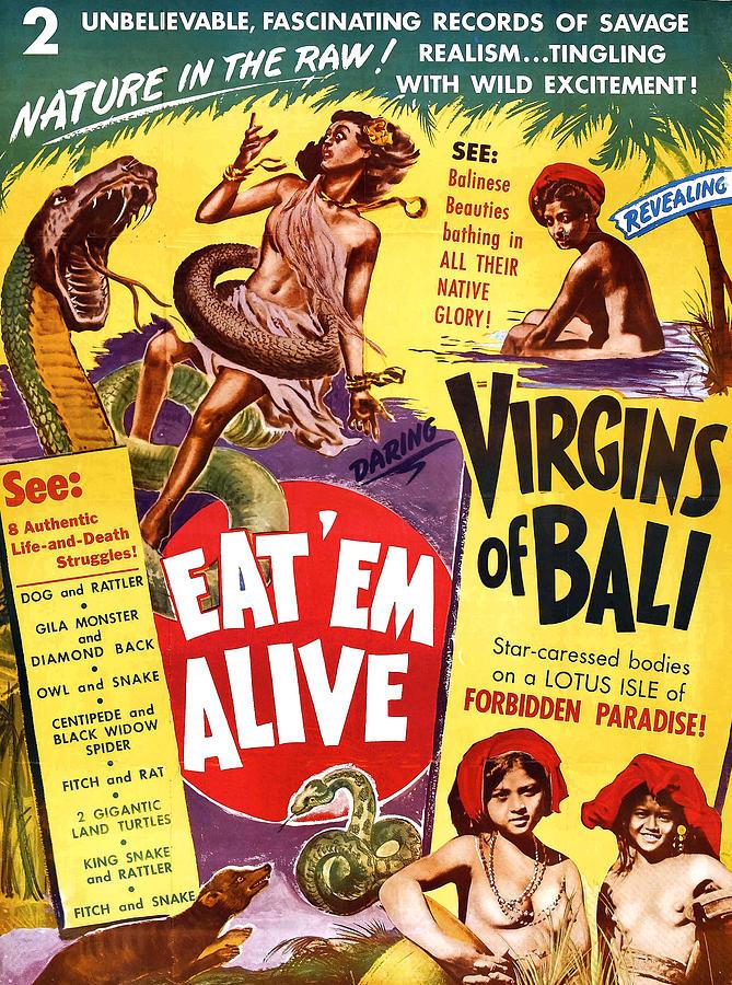Virgins Of Bali Eatem Alive Digital Art