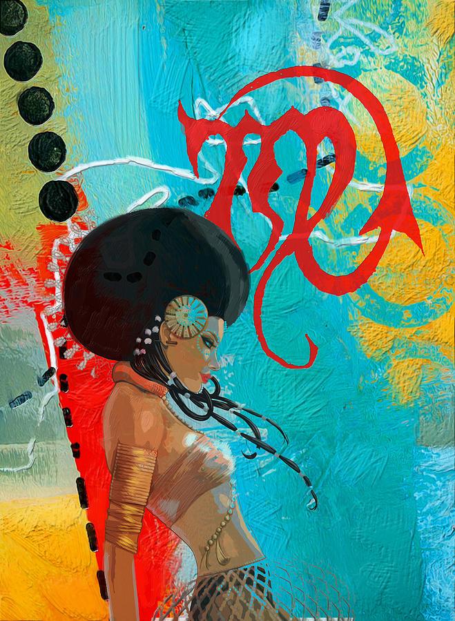 Virgo Painting
