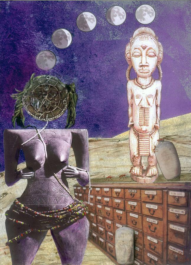 Maraia Digital Art - Virgo by Maria Jesus Hernandez
