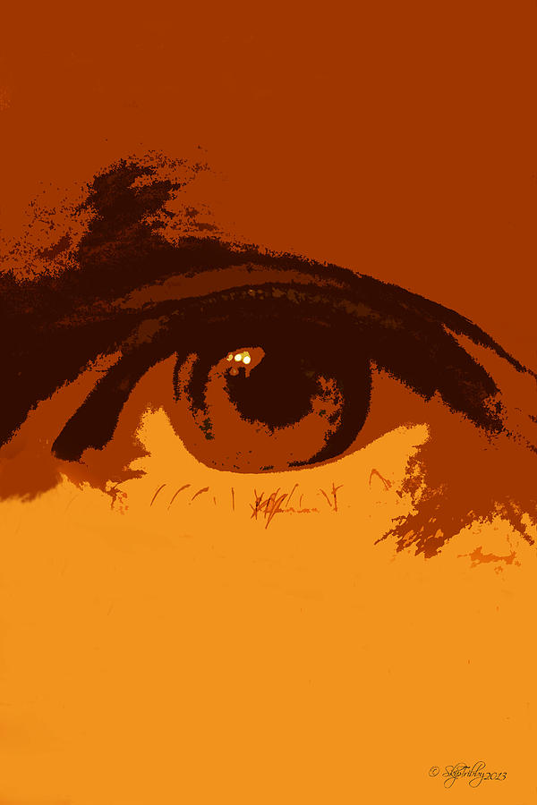 Eye Photograph - Vision by Skip Tribby